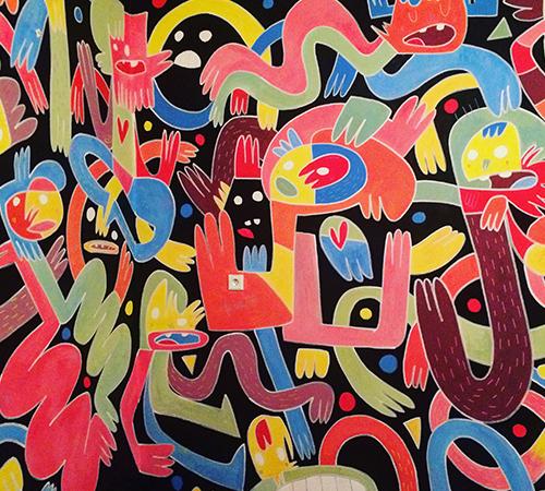 "Wall Paint ""Karnola"", Hranice, Czech Republic"